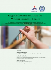 English Grammatical Tips for Writing Scientific Papers